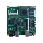 PC-Engines ALIX6F20 - Systemplatine, 2x LAN, 256 MB DRAM, USB, I2C und COM2-Header.